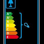 Stehleuchte Tripod-Perlbohne N°16 Stahl pastellgrün